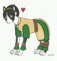 Bos-Toph terrier by cqmorrell