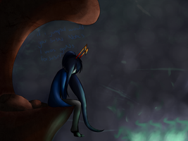 If i went... would you notice...  speedpaint  by Jynxiies