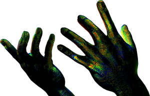 Spectral Hands Stock by Hameed
