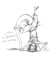 Handstand Fail. True Story. by Faullyn