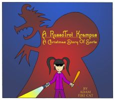 A RussoTrot Krampus Book Cover by Russotrot