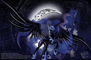 The Princess of the Night(wallscroll) by DarkmistRD