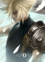 FFVII Cloud Strife by Coliandre