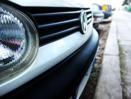 VW Golf 3 Front - II by PepiDesigns