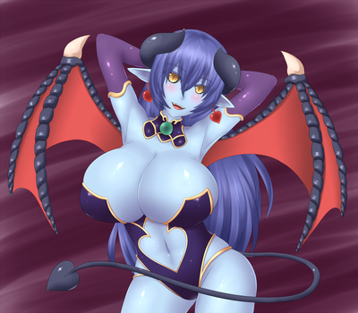 Demon Girl Appreciation Day - Astaroth by Jcdr