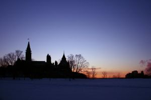 Parliament Hill Sunset HDR by d-k-mackinnon