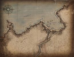 Map Mirz Marshes by GillianIvy