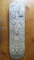 Skateboard deck by 2eyes-97
