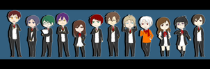 MM: Stuco chibis by TAKESHl