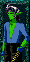 Damion Silverwing Dressup 1 by Finny-KunGoddess