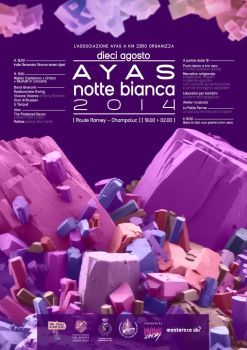 Ayas: Notte Bianca 2014 by cowboykiwi