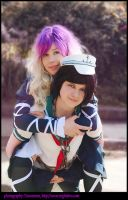Touhou Cosplay by StarbowVampire