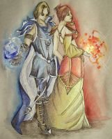 Frost and  Fire by beprotybe