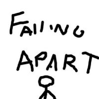 Falling Apart 9-6-04 by steal-sheep