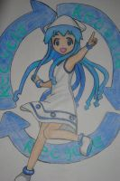 Squid Girl by Highway3