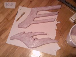 WIP of the day 2 - Ginka wings sanded and glued by simakai