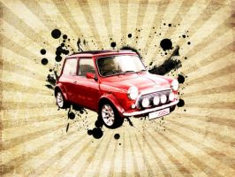 Mini Coop by thelilartist