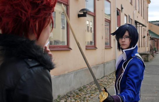 Don't you dare, Suoh - K COSPLAY by SirFancypantsIV