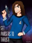 .: Set Phasers To Thrust :. by ASinglePetal