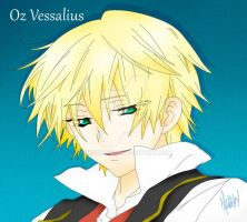 Oz Vessalius by free4l0ng