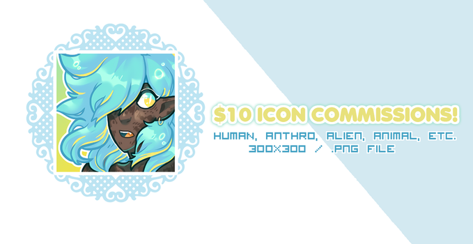 Icon Commissions! OPEN by swanhili