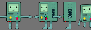 BMO Model by FusionFallCreations