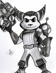 Ratchet and Clank by shadwgrl
