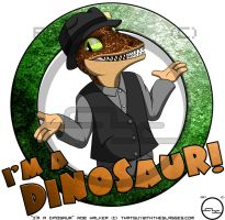 Rob Walker Is A Dinosaur!... Again! by Arbok-X
