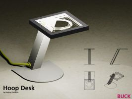 Hoop Desk Lamp by Olovni