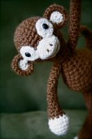 Amigurumi Monkey by sconker311
