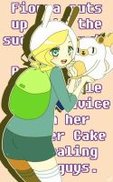 Fionna and Cake by Yuupix