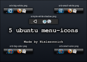 5 ubuntu menu-icons by Nielssonnich