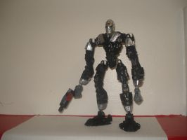 Bionicle - Kamen Rider Skull by andrell