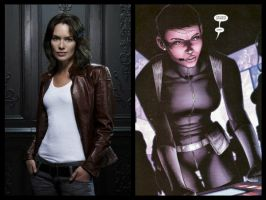 Marvel Casting - Maria Hill by Doc0316