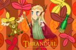 Thranduil in Autumn by ArianeVass