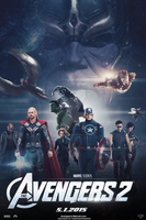 The Avengers 2 (FAN-MADE) Movie Poster v8 by DiamondDesignHD