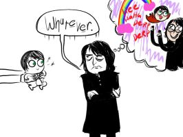 Snape Being a Stick in the Mud by Jojobinks
