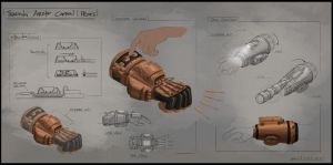 Steampunk Captain's Gadgets by Vaultr