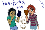 Happy Birthday To Us - 2014 by Frist44