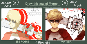 draw this again meme by LaWeyD