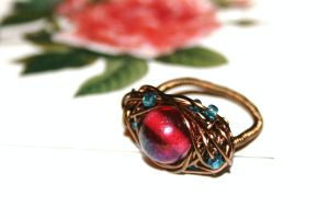 Berries Alive - Wrapped Ring by FranyaBlue