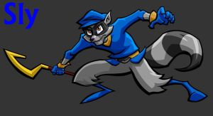Sly Cooper by SinFire12222