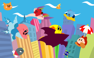 Kirby Air Ride Wallpaper by ShadowIceman
