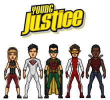 Young Justice by dudebrah