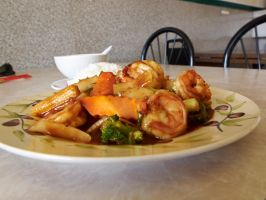 China Inn Test - Shrimp with Garlic Sauce 3 by sakaphotogrfx