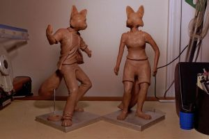 Marcello and Veronica maquettes, WIP by MarcelloRupelli