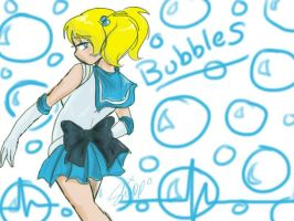 Sailor Bubbles by EchoVoice713