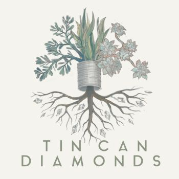 Tin Can Diamonds Debut Album Cover by LasDiablas333