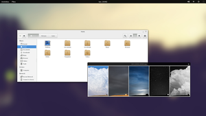 Fedora 19 - Desktop 01 by Fedo64