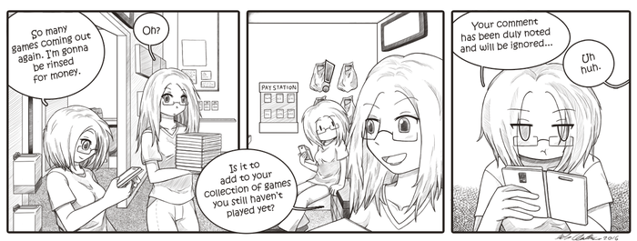 Strip Life: Too Many Games, Not Enough Lives by HomunculusLover